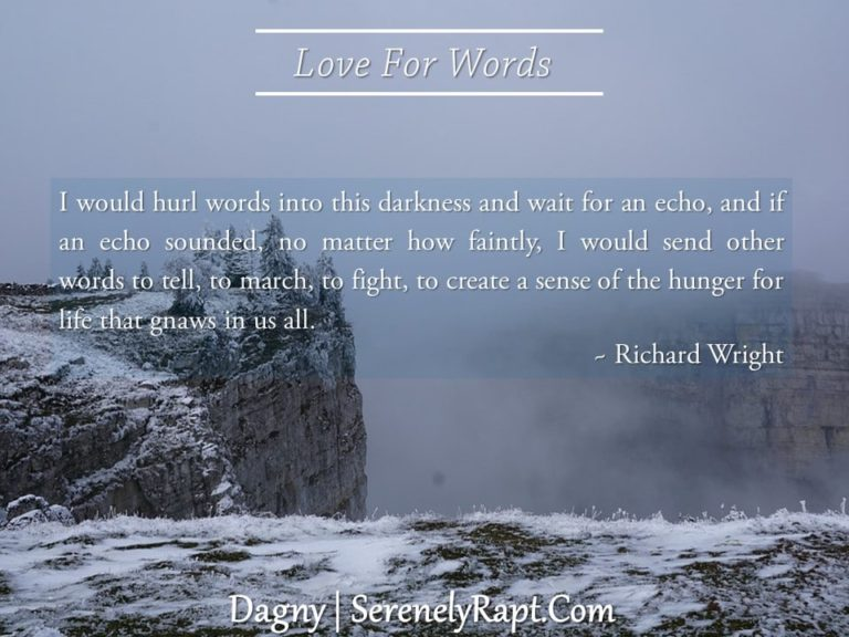 Love For Words