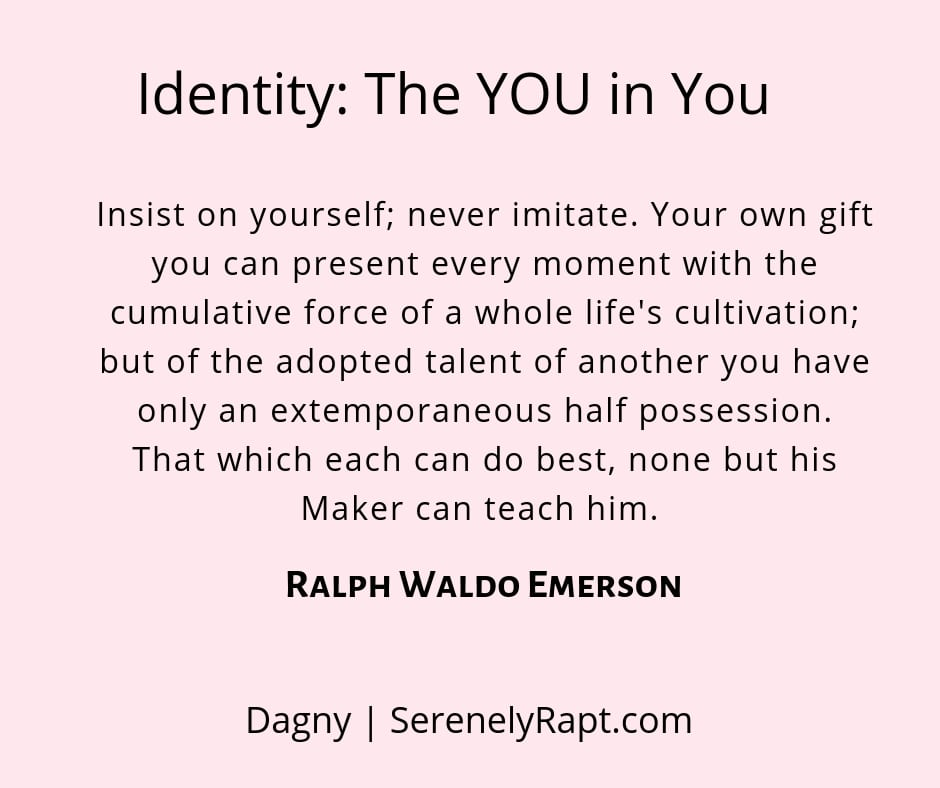 Identity: The YOU in You